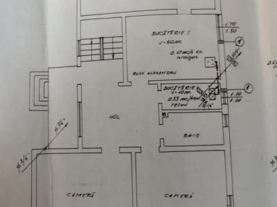 Apartament 4 camere, 135 mp, curte 160 Zona Iosif Vulcan
